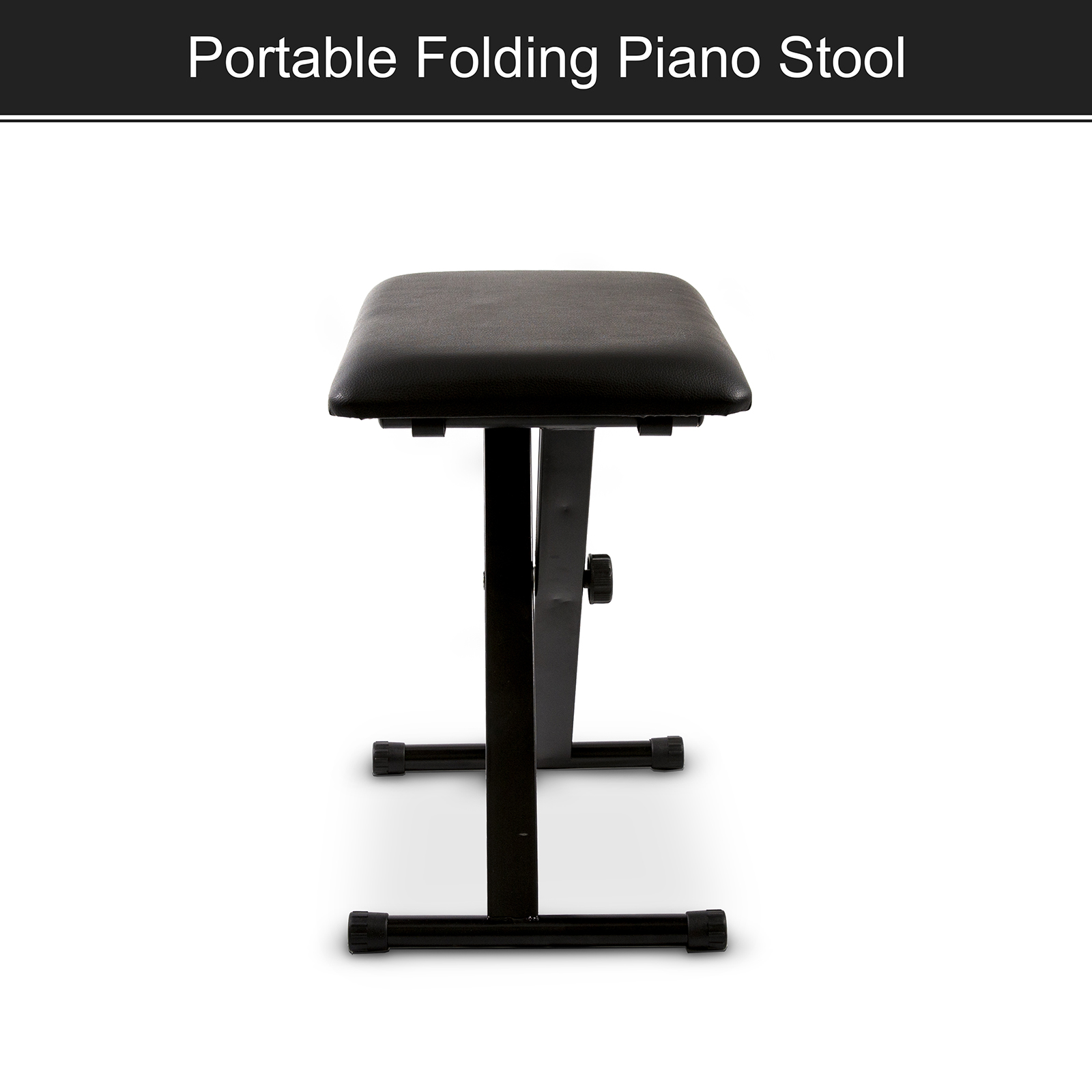 Features  sc 1 st  eBay & Portable Piano Stool Adjustable Folding 3 Way Keyboard Leather ... islam-shia.org