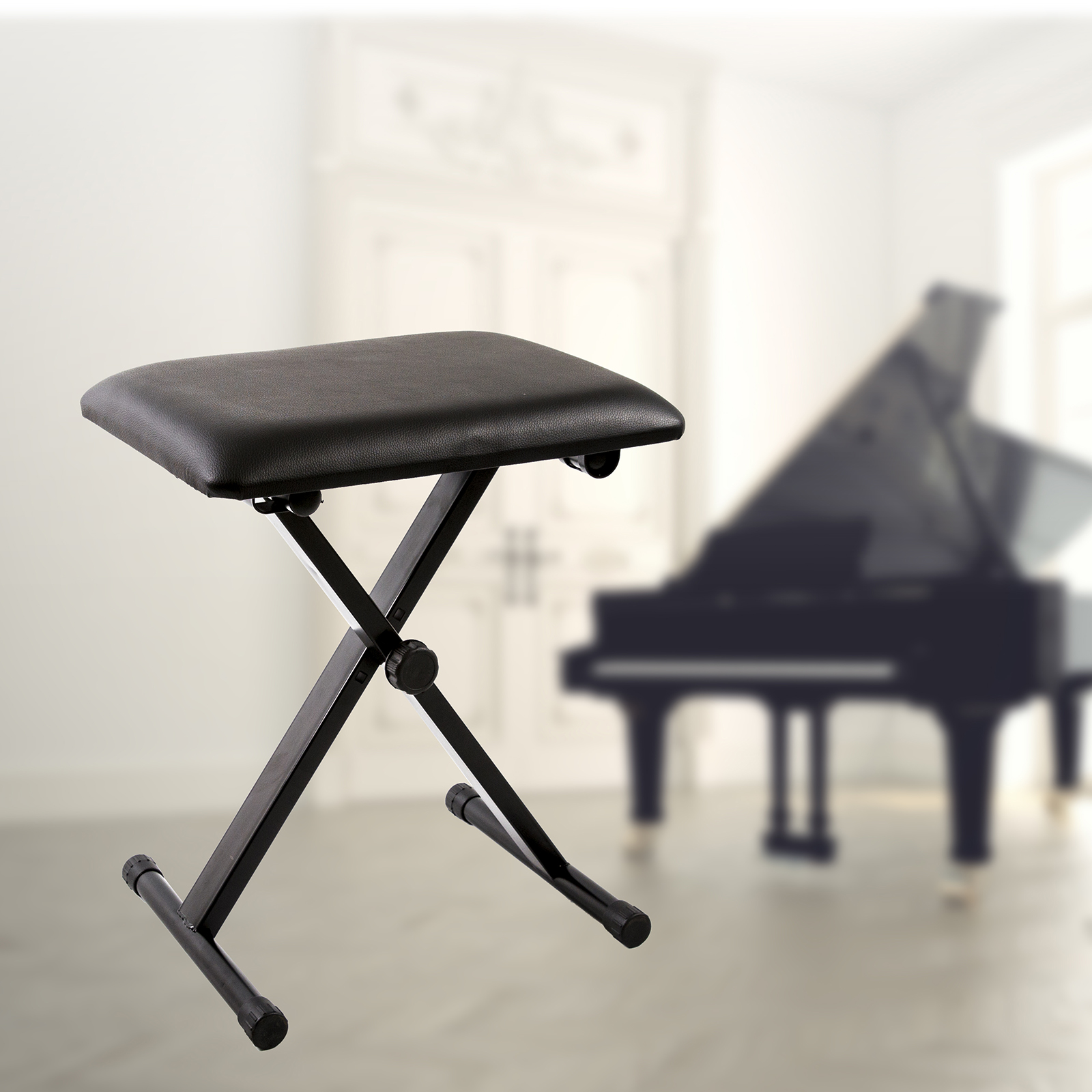 Features & Portable Piano Stool Adjustable Folding 3 Way Keyboard Leather ... islam-shia.org