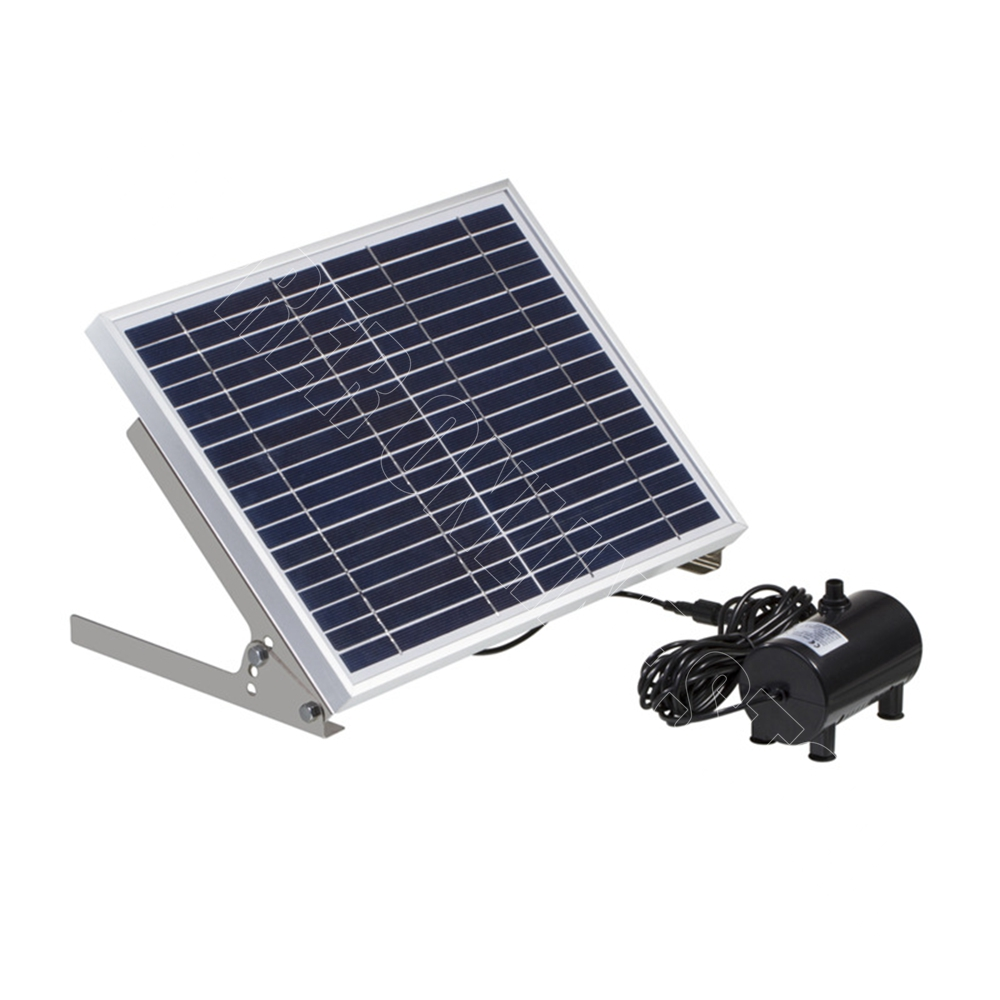 10w Solar Panel Power Fountain Pump Kit Water Feature