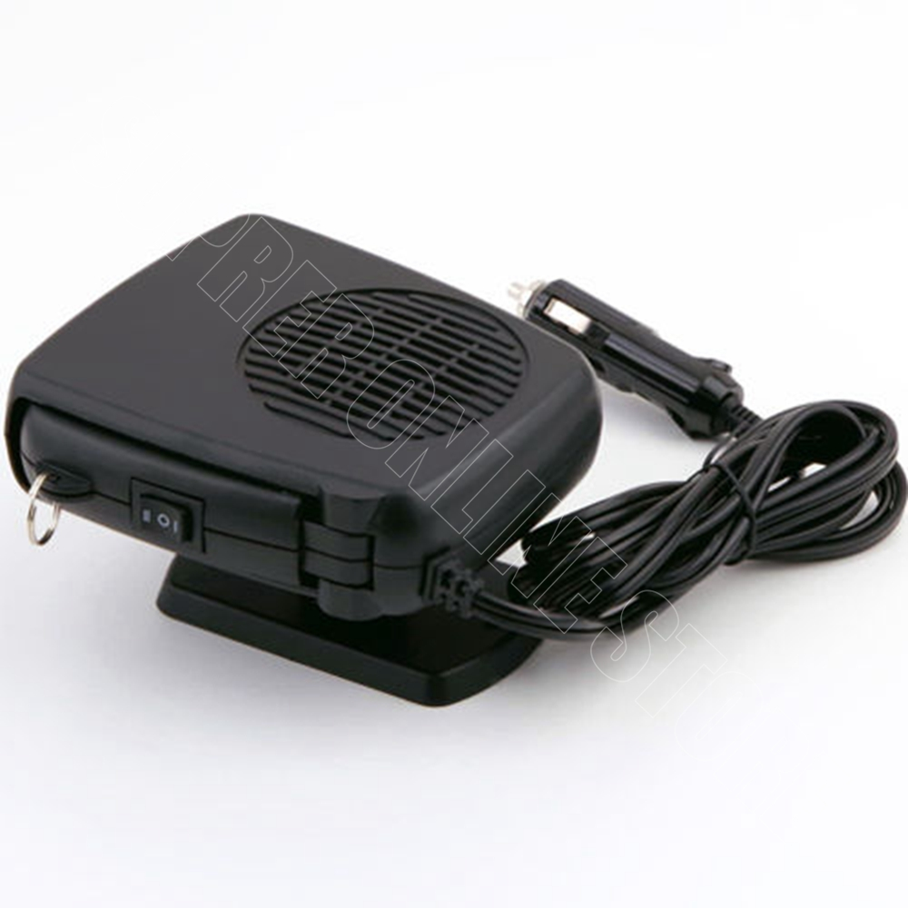 Car heater 12v 200w ceramic auto heateing fan vehicle for 12v window defroster