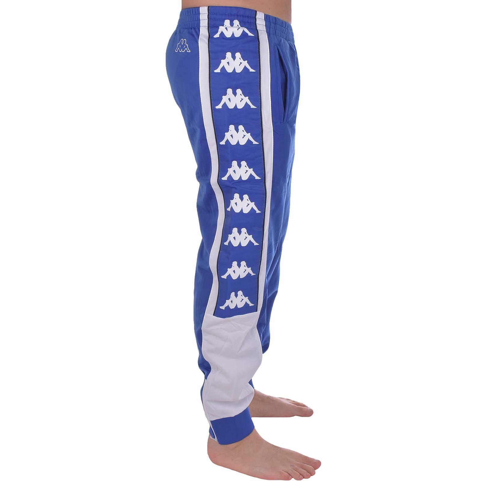 Detalles de Kappa Para hombre Deportes Retro Con Puño Elástico Chándal Bottoms Chándal Pantalones de pista ver título original