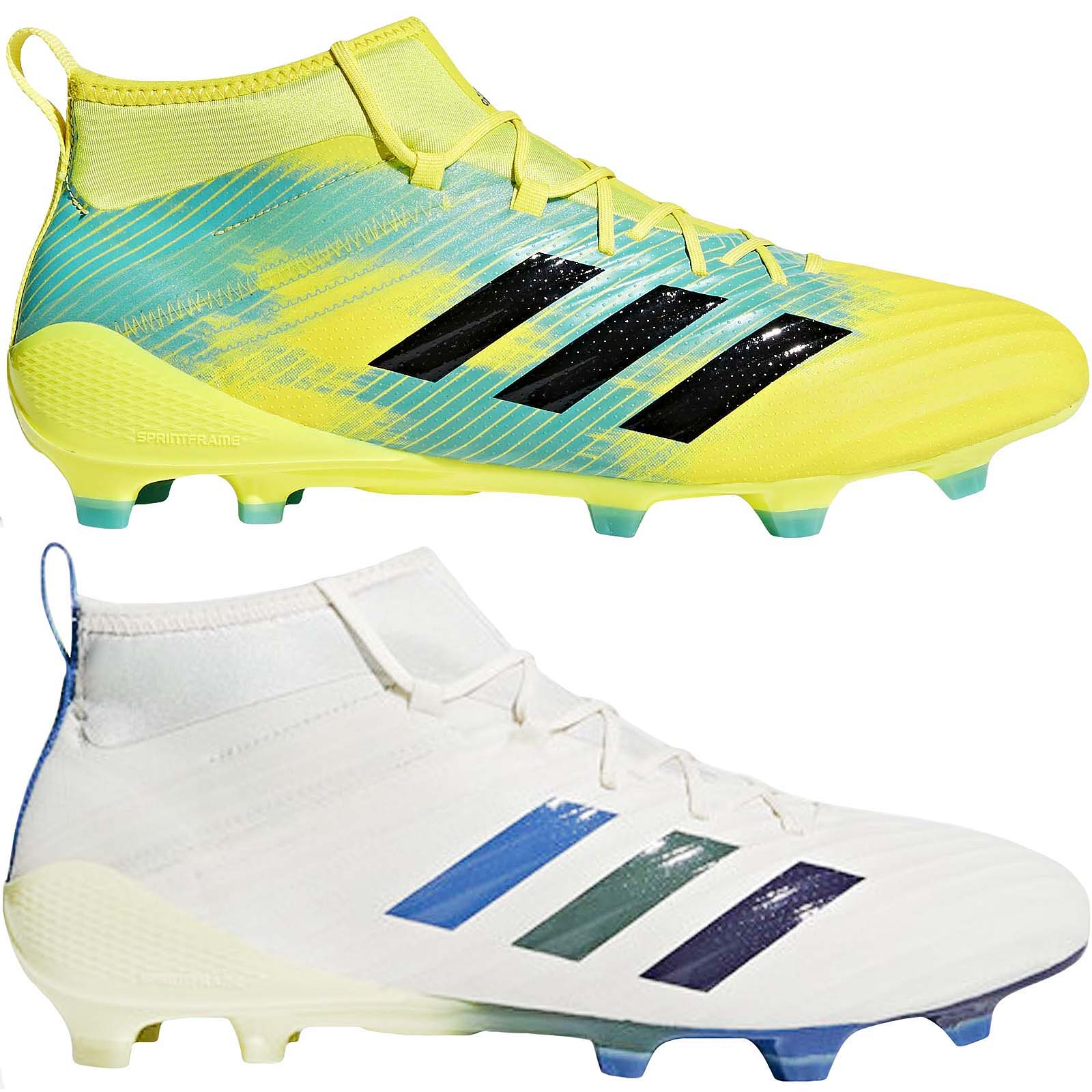 Details about adidas Performance Mens Predator Flare FG Rugby Shoes Trainers Boots