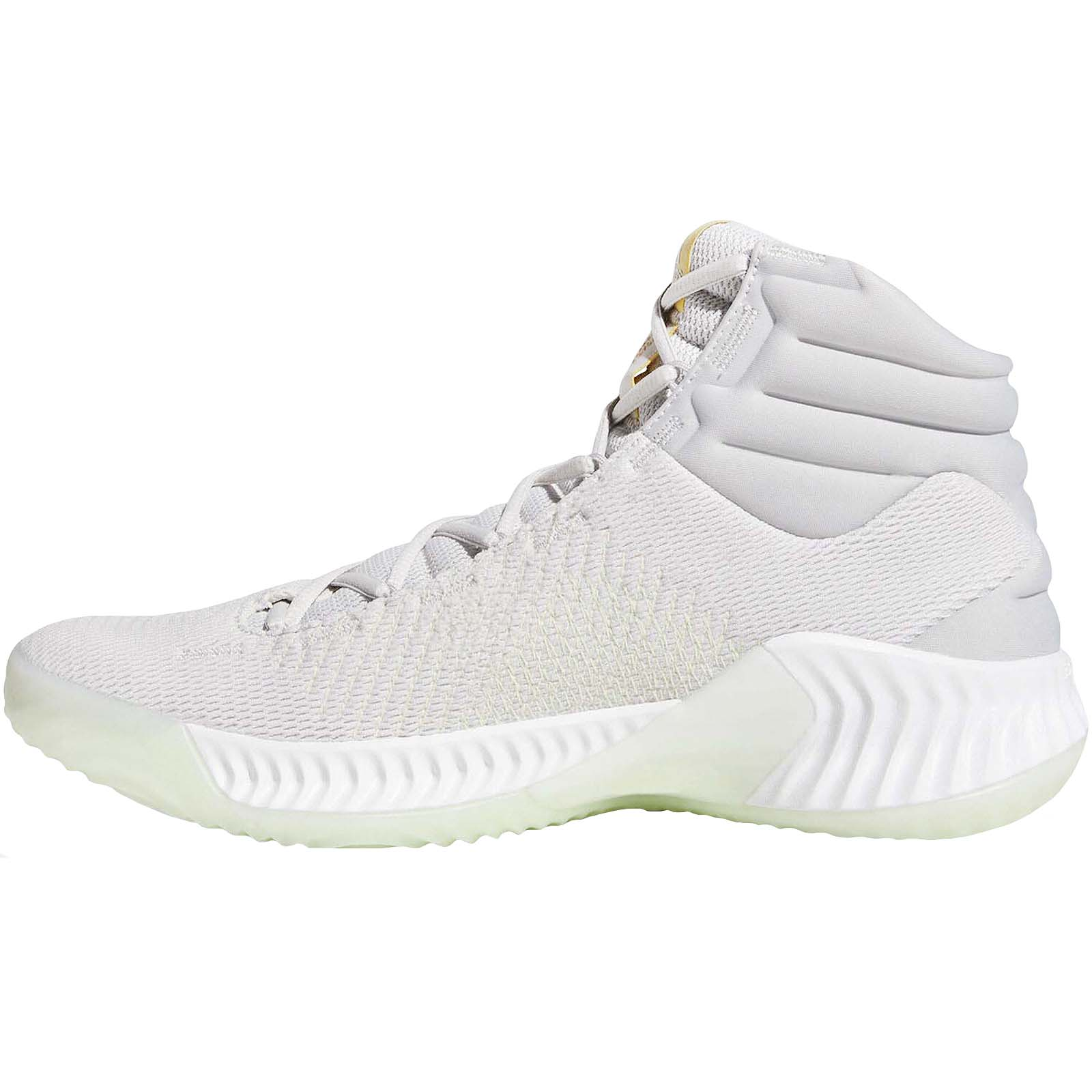 adidas-Performance-Mens-Pro-Bounce-2018-Basketball-Trainers-Shoes miniatuur 7