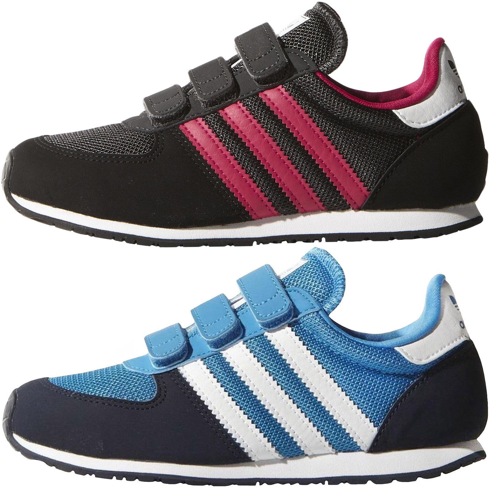 le dernier 4a929 1cdf5 Details about adidas Originals Kids Adistar Racer Fashion Trainers Sneakers