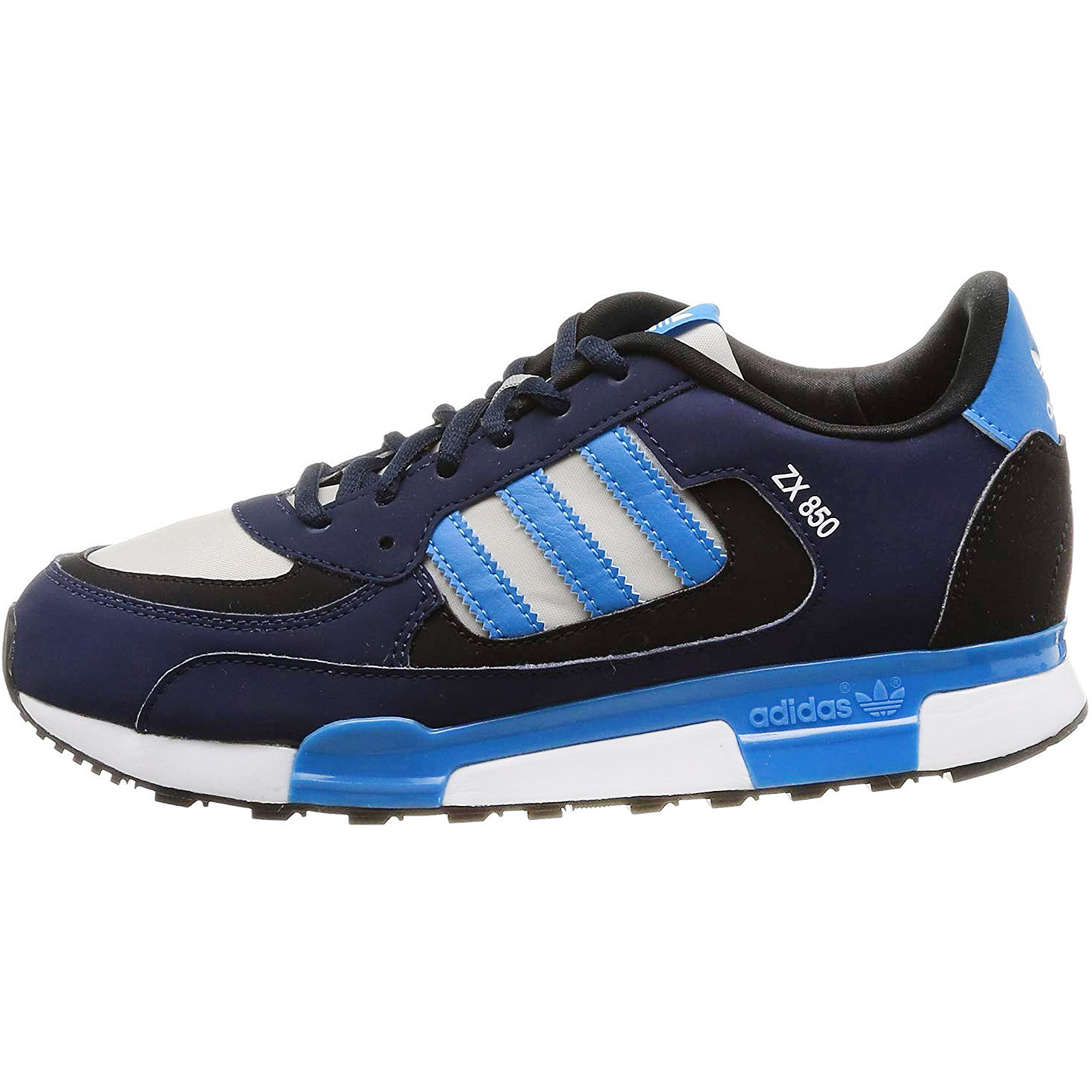 more photos 88d94 d98f1 Details about adidas Originals Childrens Kids ZX 850 Casual Lace Up  Trainers Shoes - Navy
