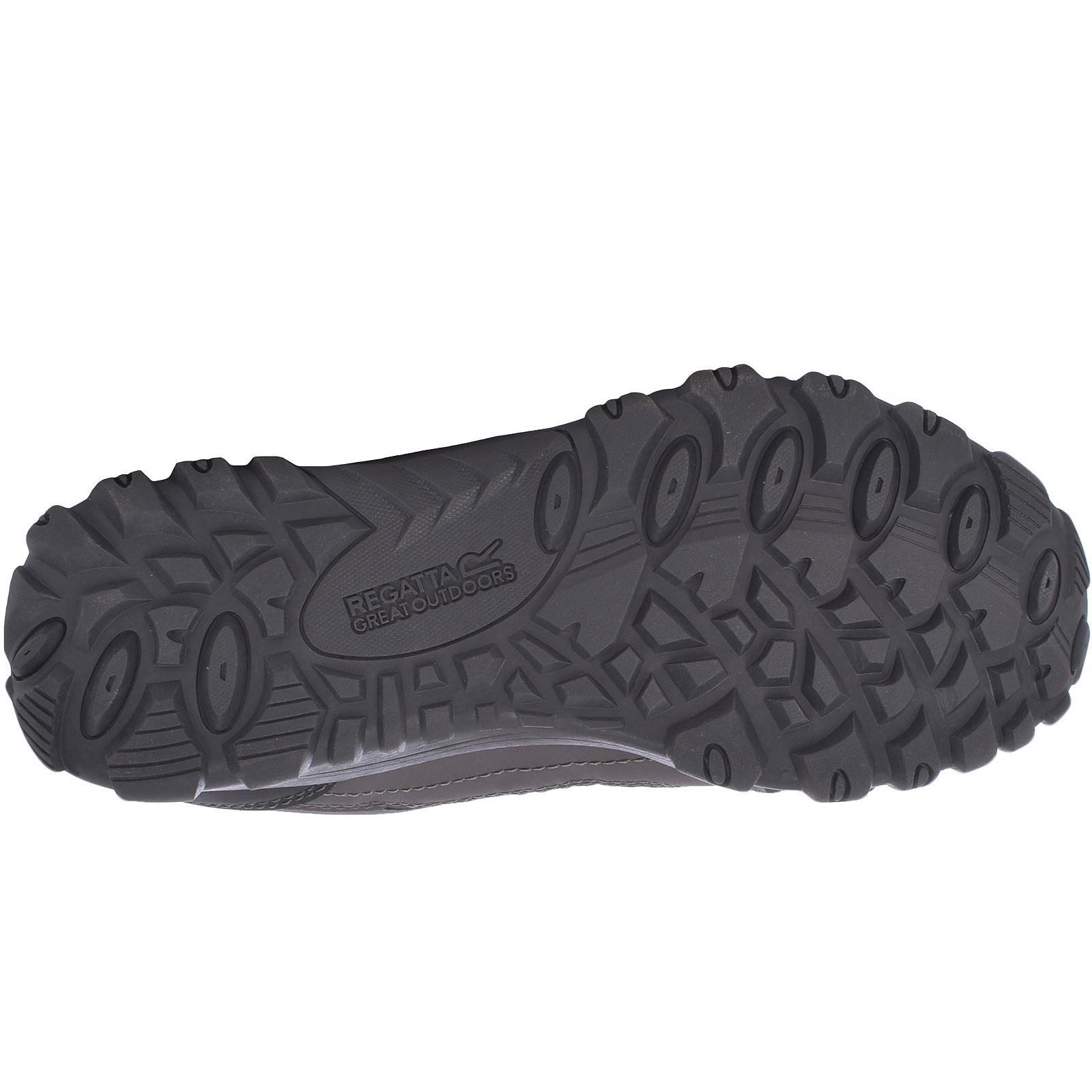 Regatta Womens Edgepoint III Waterproof Outdoor Walking Hiking Shoes Granite