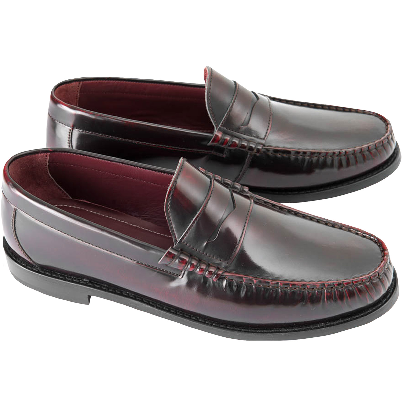 Ikon Mens Tide Casual Summer Leather Slip-On Deck Beach Shoes Moccasins