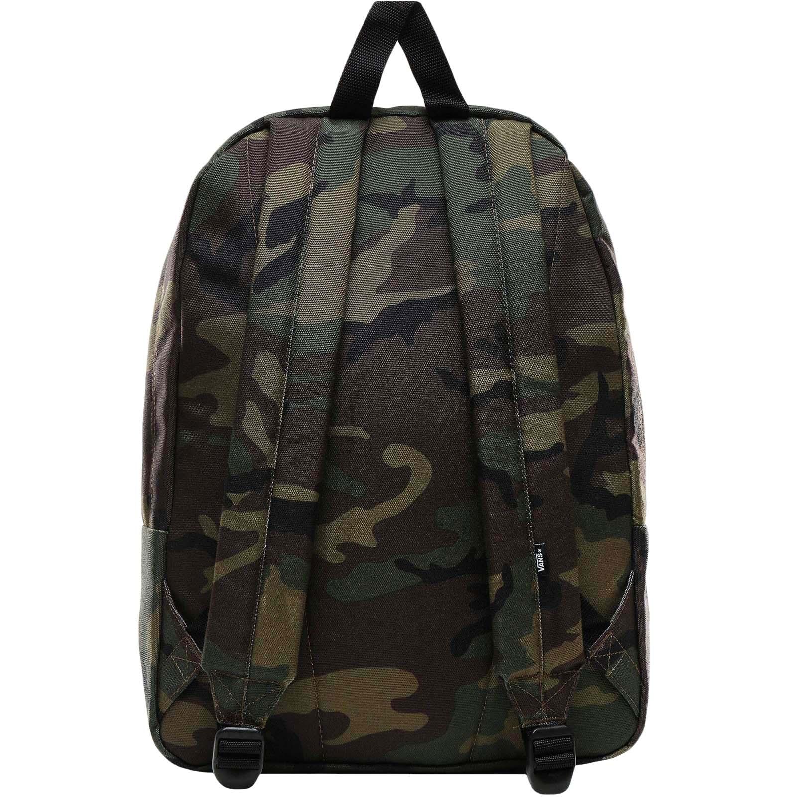 thumbnail 9 - Vans Adults Old Skool III School College Two Strap Backpack Rucksack Bag