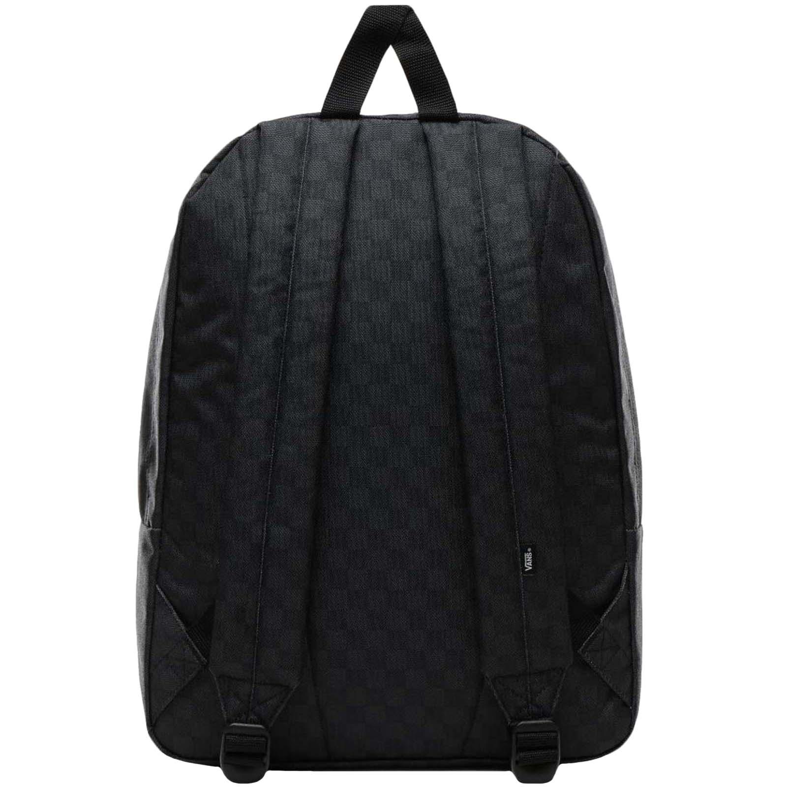 thumbnail 7 - Vans Adults Old Skool III School College Two Strap Backpack Rucksack Bag