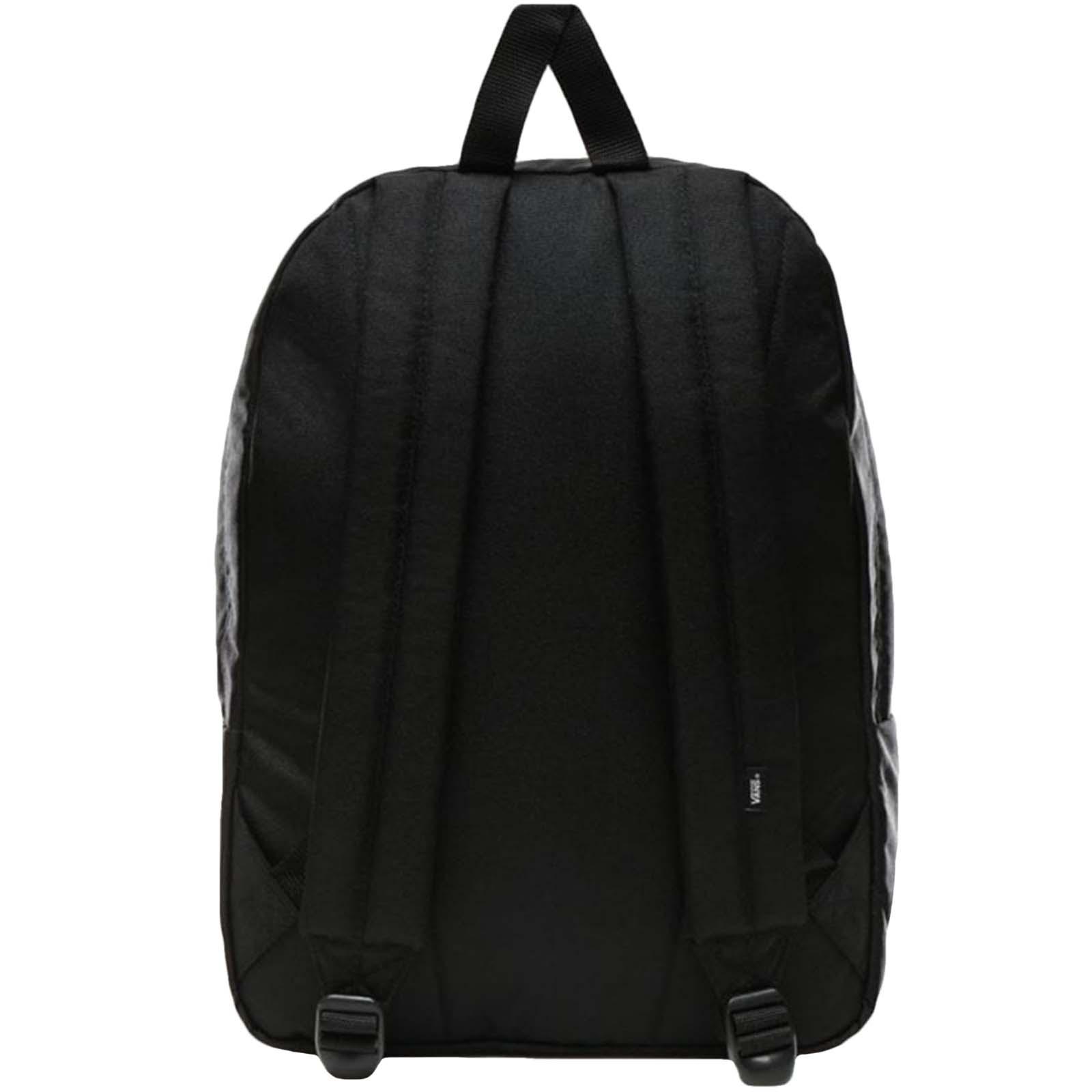 thumbnail 3 - Vans Adults Old Skool III School College Two Strap Backpack Rucksack Bag