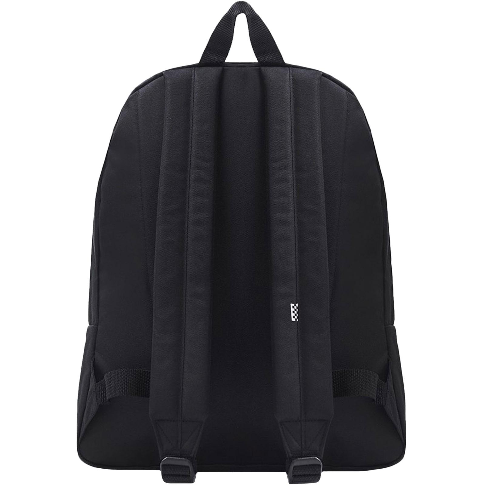 thumbnail 3 - Vans Unisex Two Strap Realm Adjustable School College Rucksack Backpack Bag