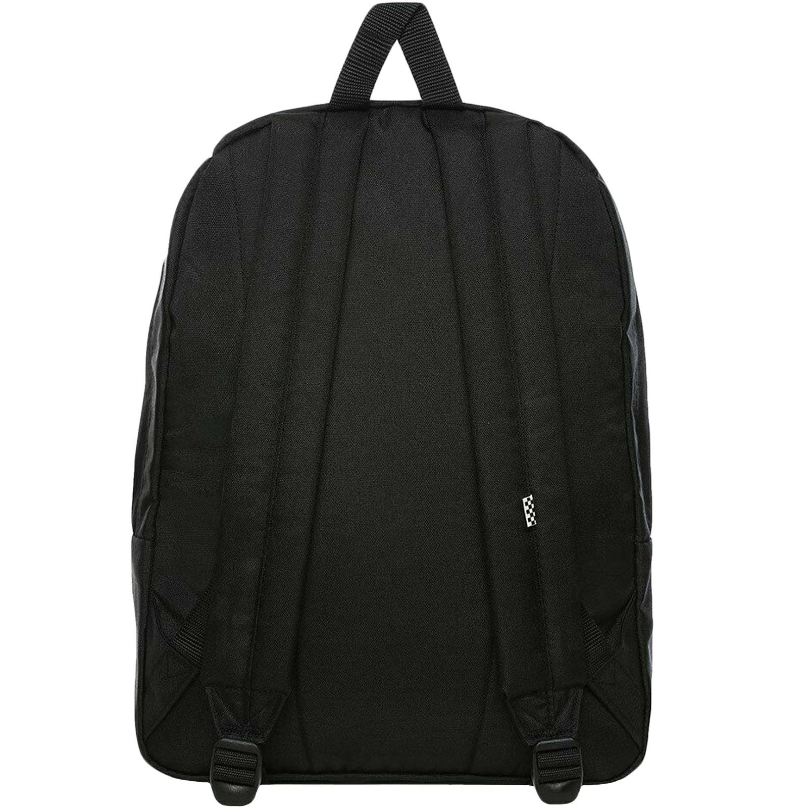 thumbnail 8 - Vans Unisex Two Strap Realm Adjustable School College Rucksack Backpack Bag