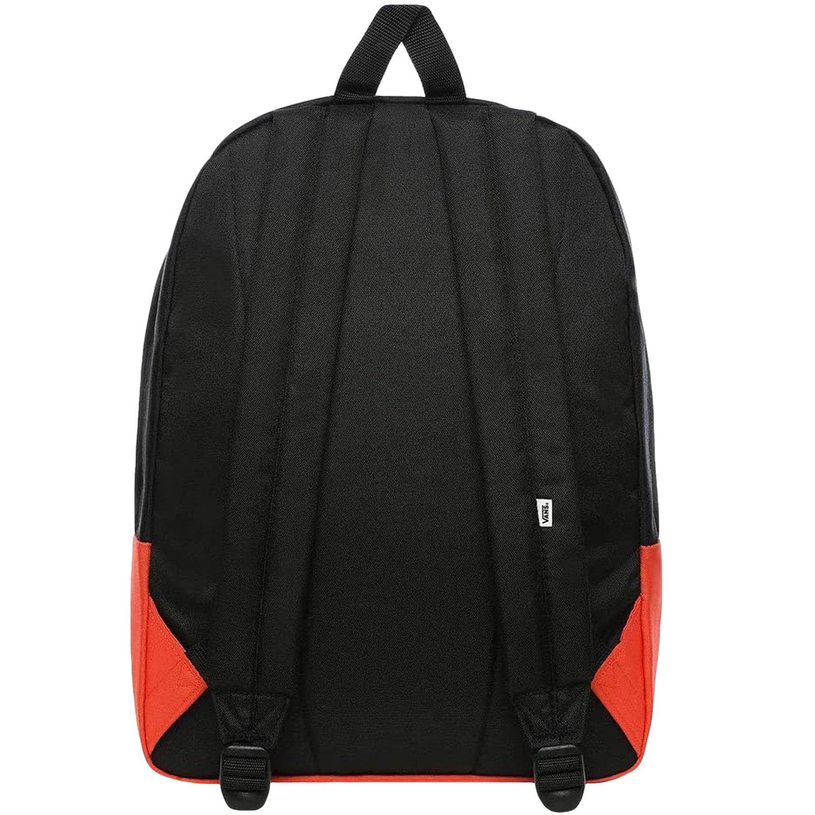 thumbnail 6 - Vans Unisex Two Strap Realm Adjustable School College Rucksack Backpack Bag