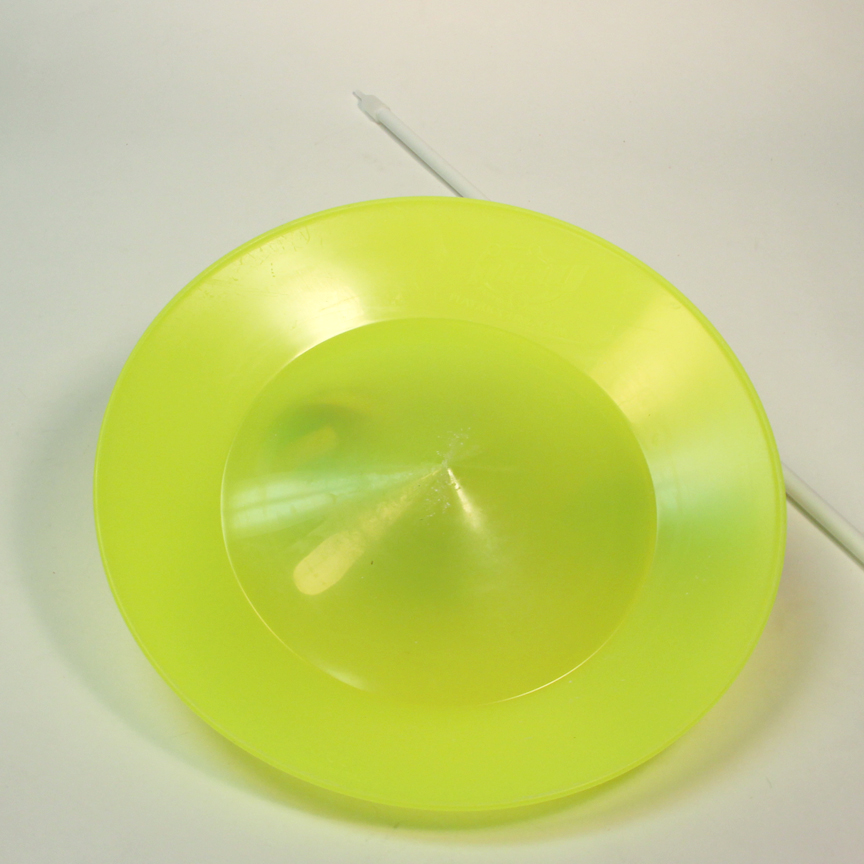Play Soft Spinning Plate And Stick Yellow Ebay