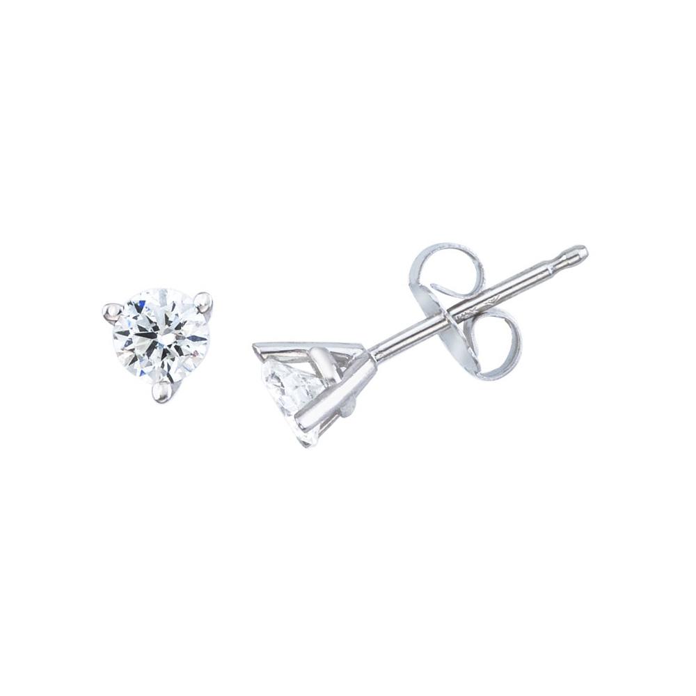 0.20ct, I1 clarity Princess cut Diamond Pendant /& Stud Set Prime Quality-Screw Back Yellow Gold