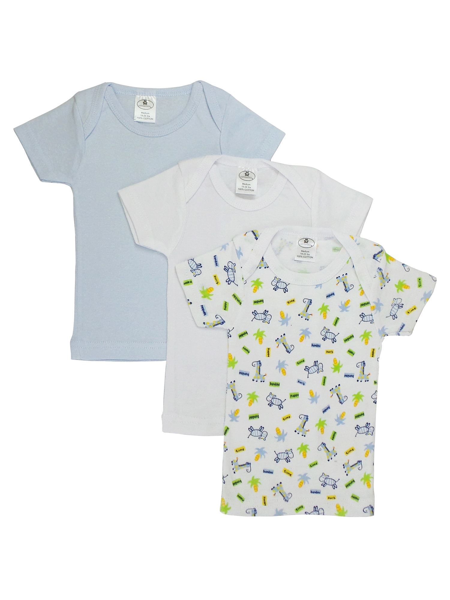 942fbeaaf Boys' Print Variety Short Sleeve Lap T-Shirt, made with 100% rib knit  cotton, is a great variety pack to have in the spring and summer months.