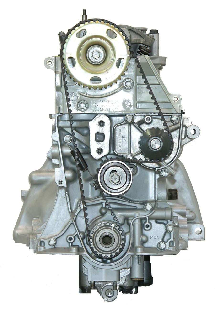 HONDA D15B7 COMPLETE REMANUFACTURED ENGINE. REMANUFACTURED ENGINE. 518F.  Civic, Del Sol. 1493cc. 92-95. 16 Valve. Sohc. 24mm Crank Snout. With Water  Pump
