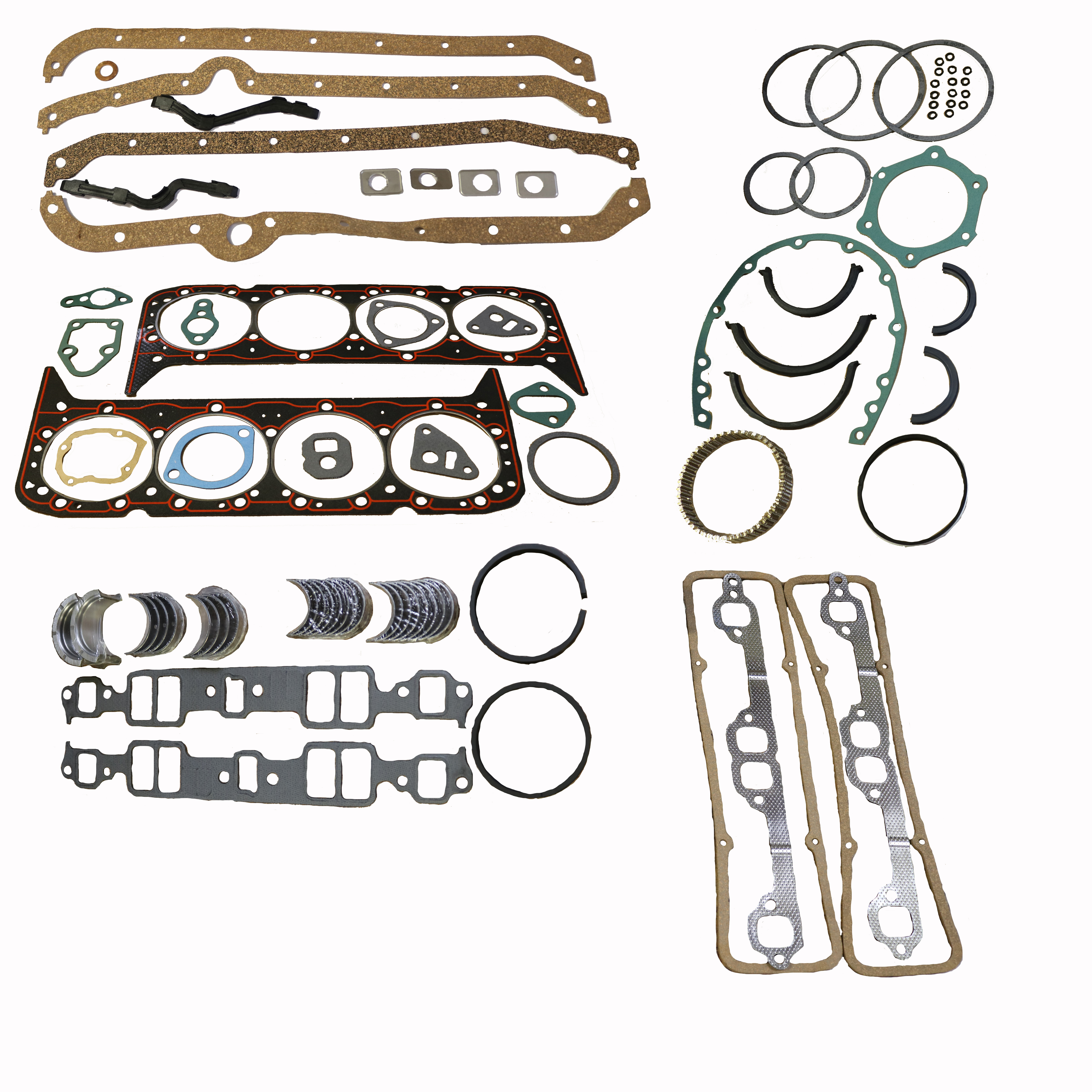 SBC Chevy 400 1970-1980 Re-Ring Engine Kit