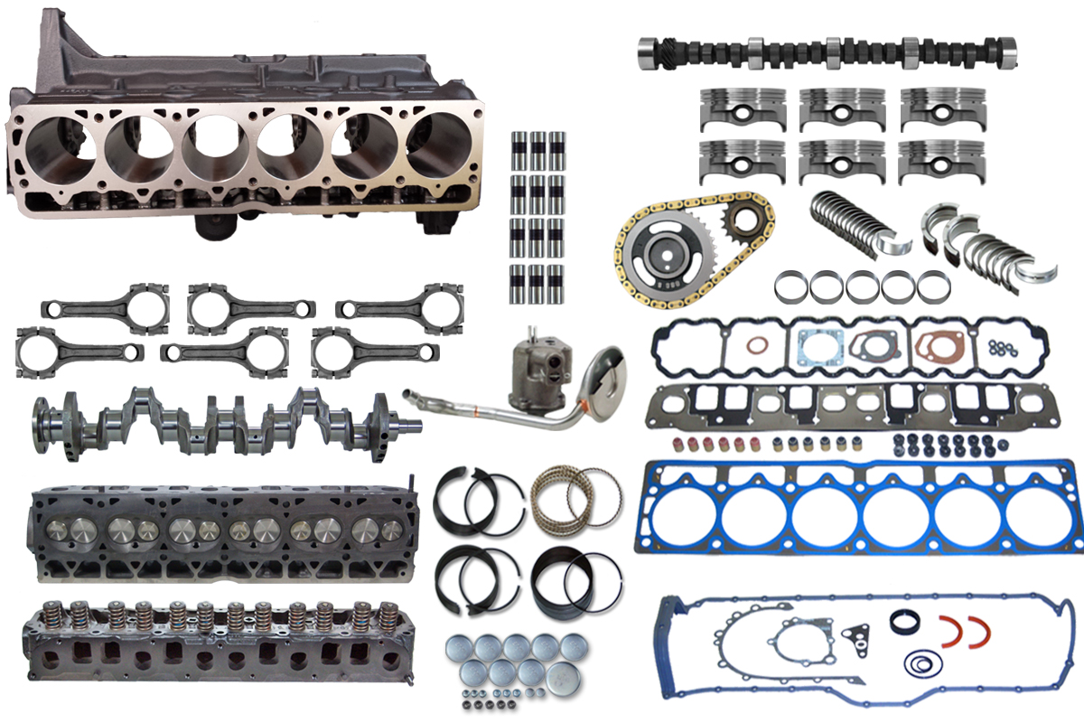 JEEP Stroker Complete Engine Upgrade Kit 4.0 to 4.6 4.7