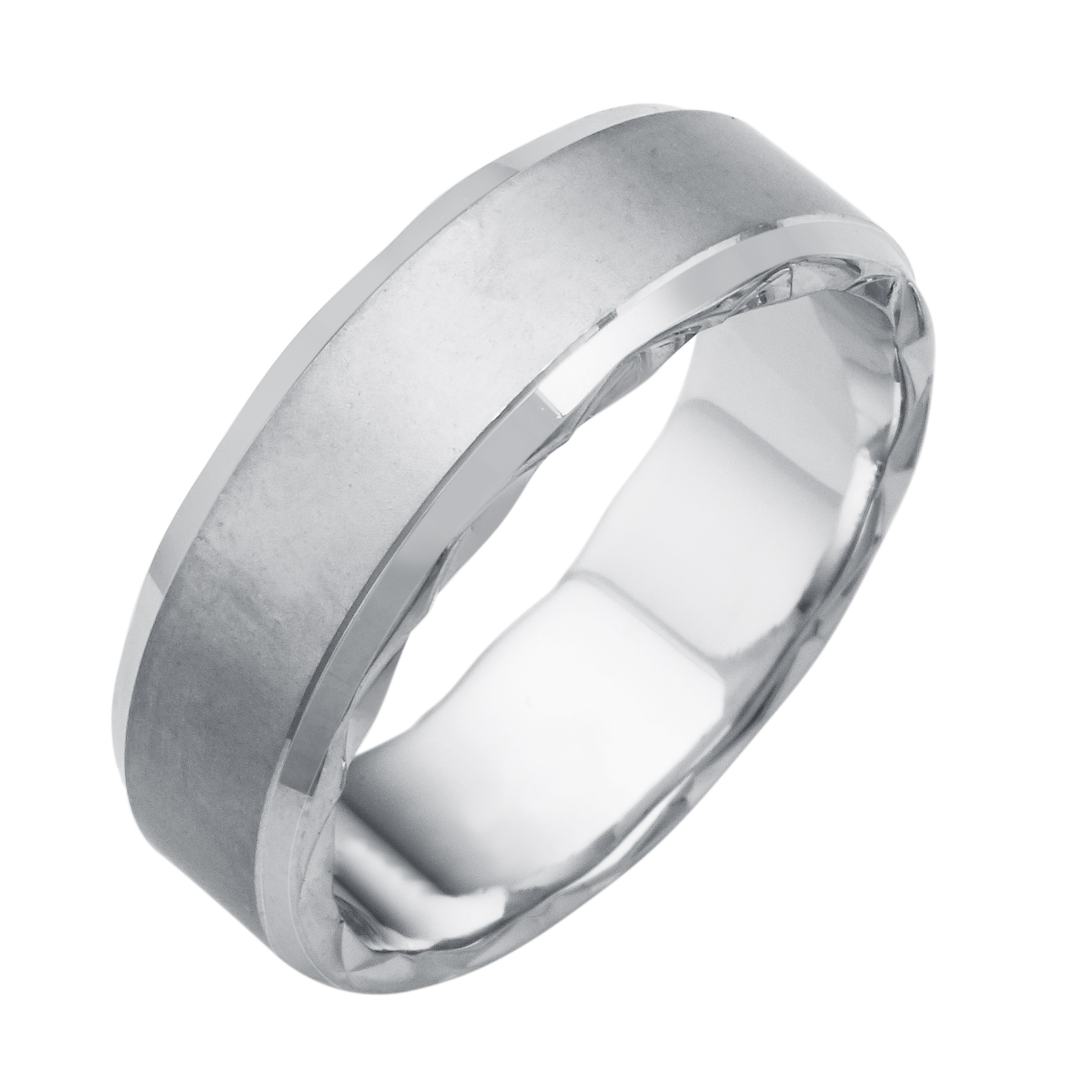 wedding christopher gents gold ring evanston duquet platinum collection mens white rings chicago concave il