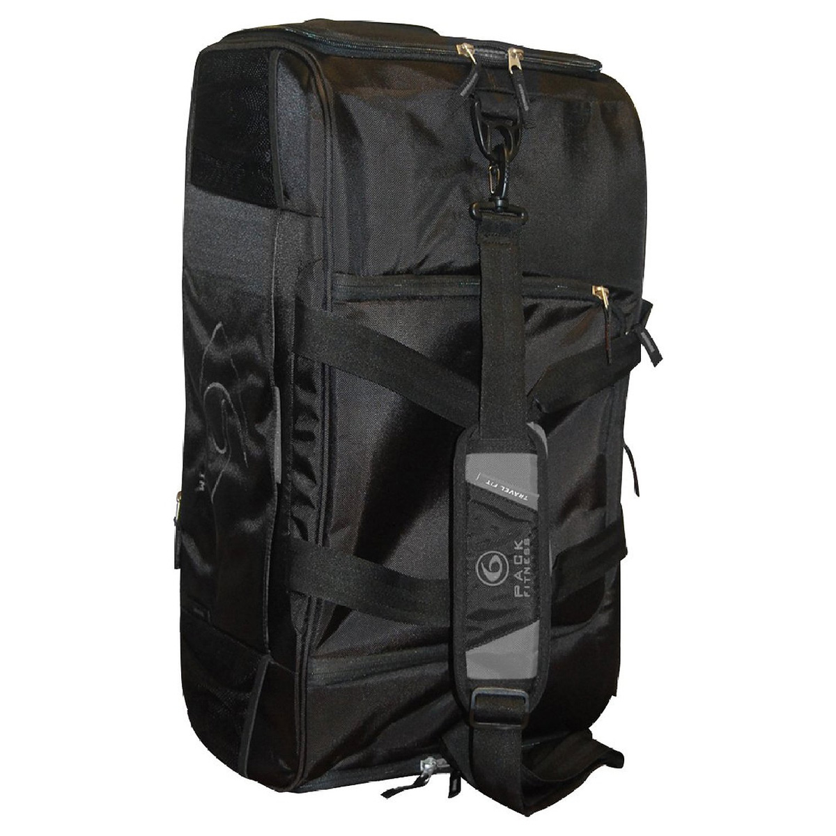 6 Pack Fitness Beast Meal Management Duffel Bag - Stealth ... f857fcc1abf38