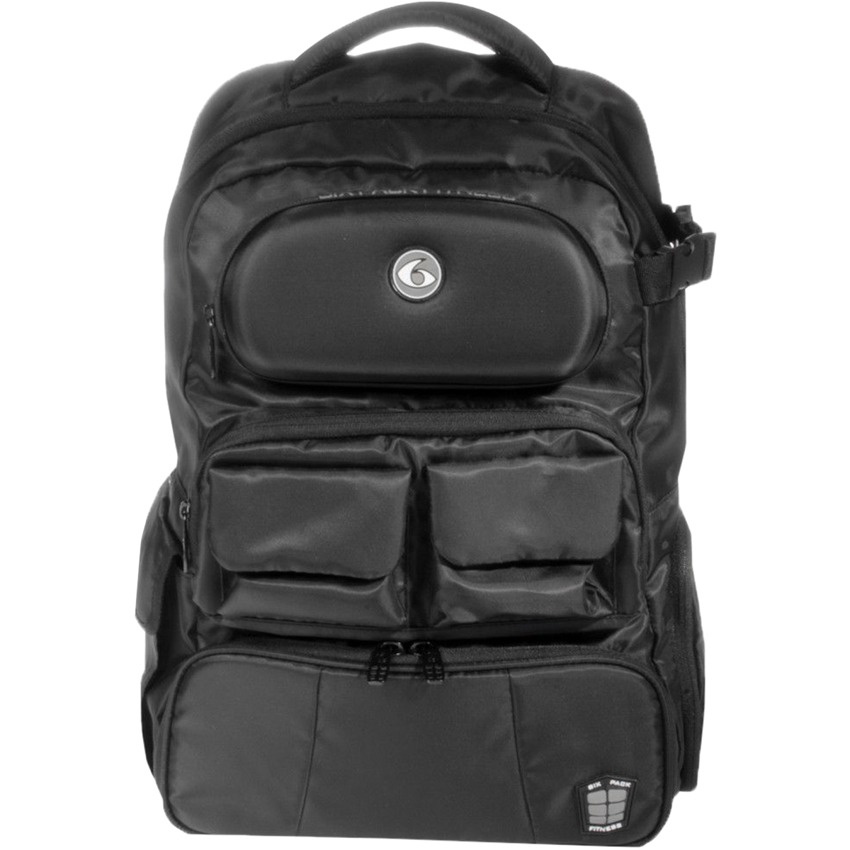Details about 6 Pack Fitness Mach 6 Athletic Backpack - Stealth Black