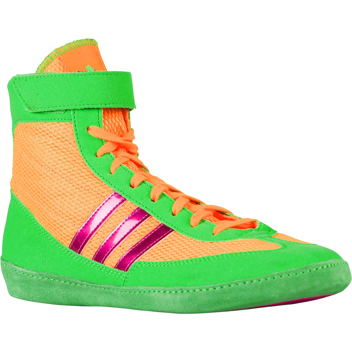 new product e3a3c 99431 9f7f9 5684c  ebay adidas combat speed 4 wrestling shoes 10 solar gold solar  lime metallic pink f386b 77cd5