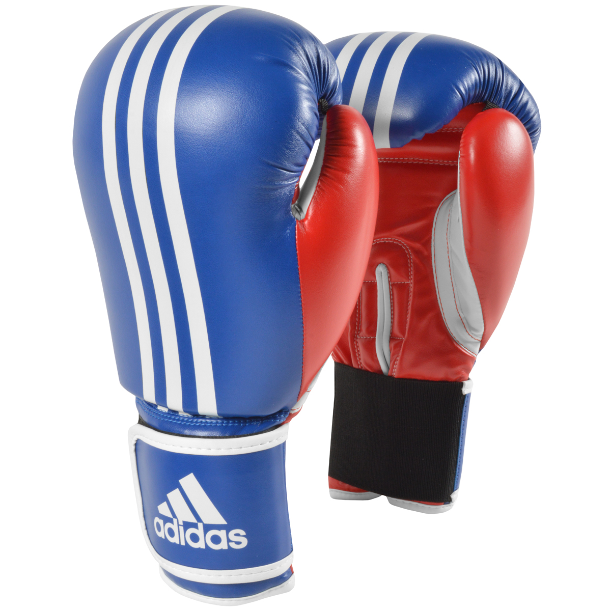 a843572f1 Details about Adidas Response Hook and Loop Training Boxing Gloves -  Blue Red White