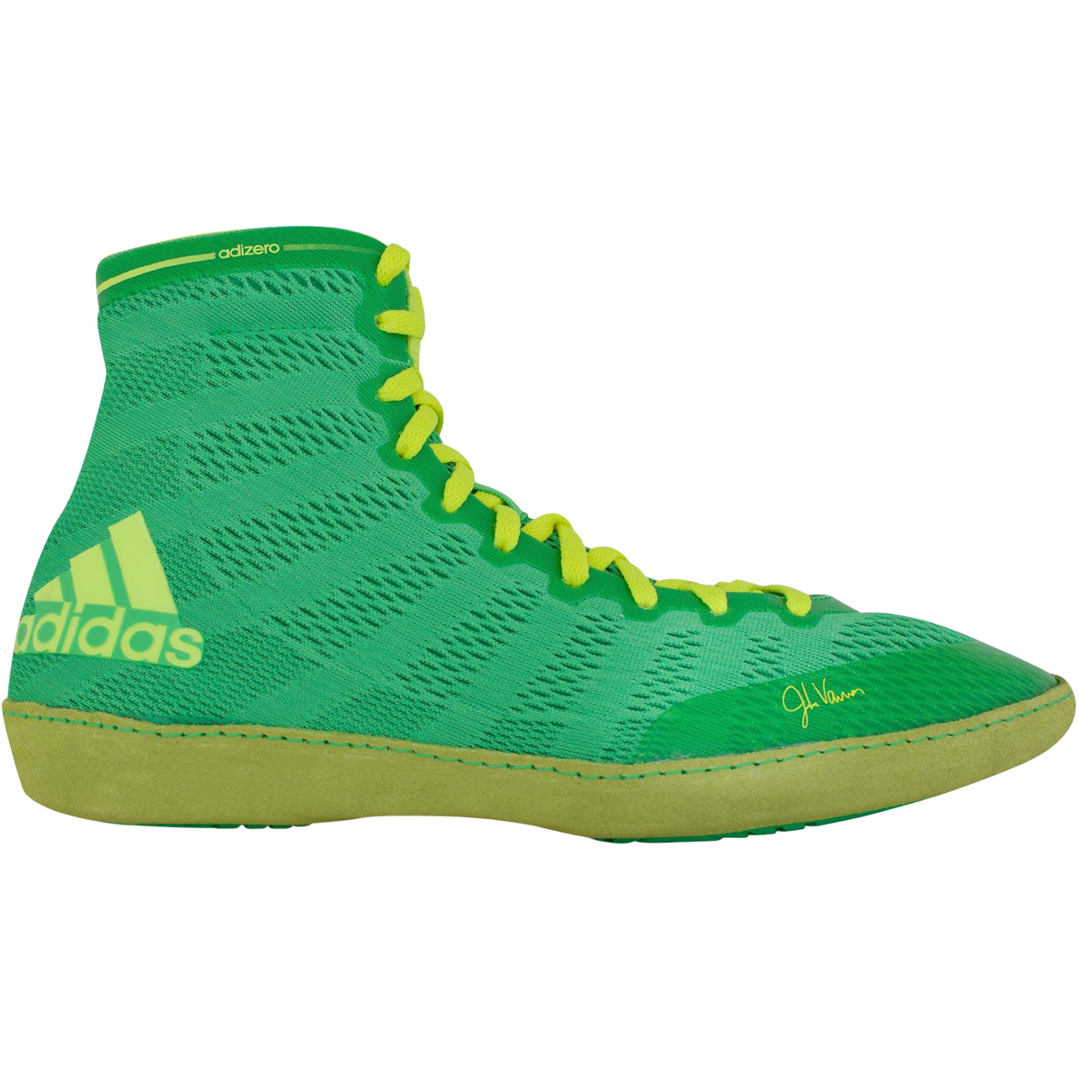 Adidas adizero Varner manzana High Top wrestling zapatos Flash manzana Varner / amarillo 29141f