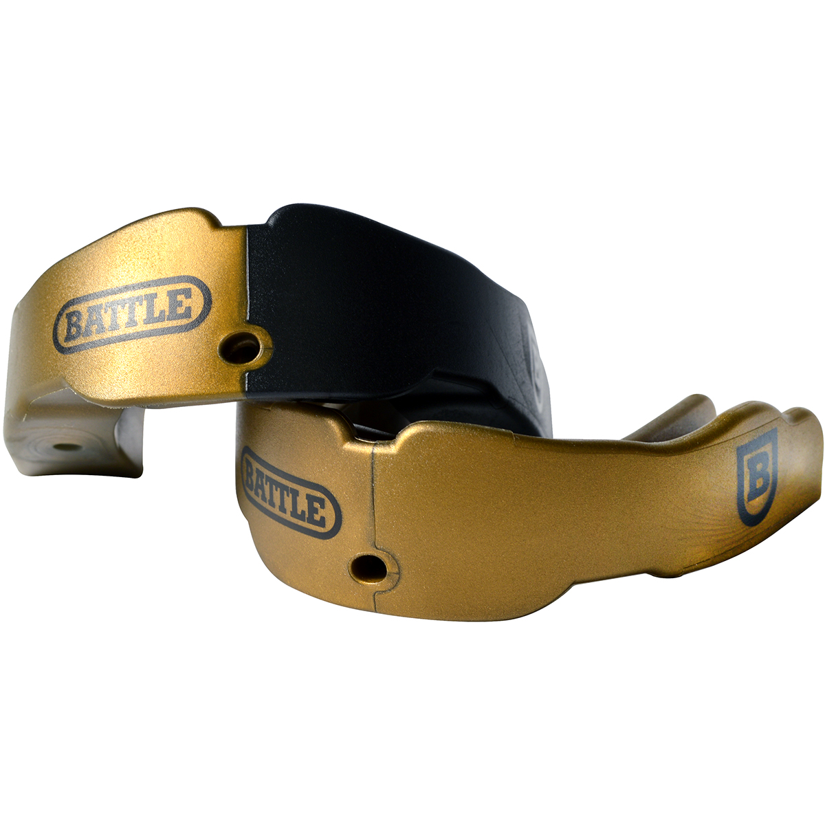 Battle-Sports-Science-Adult-Football-Mouthguard-2-Pack-with-Straps thumbnail 4
