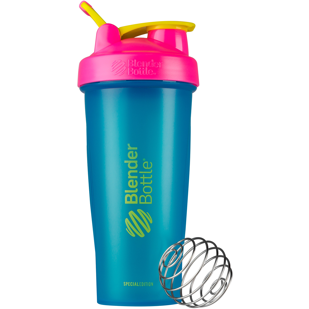 Blender Bottle Special Edition 28 oz. Shaker with Loop Top - 80s ...