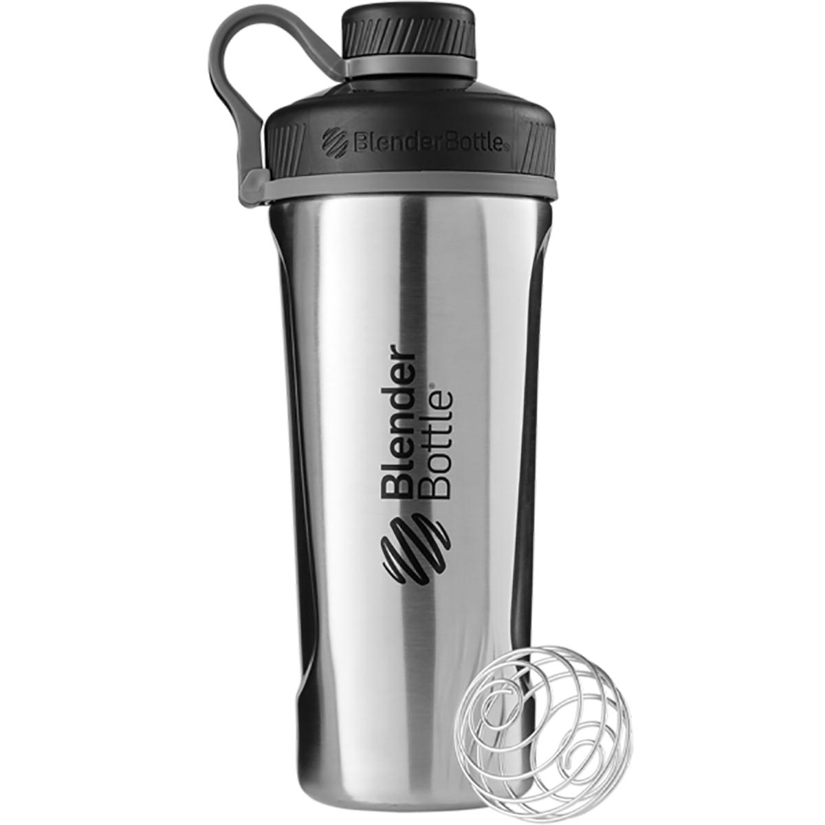 Blender Bottle Radian 26 oz. Stainless Steel Shaker Bottle with Loop ...