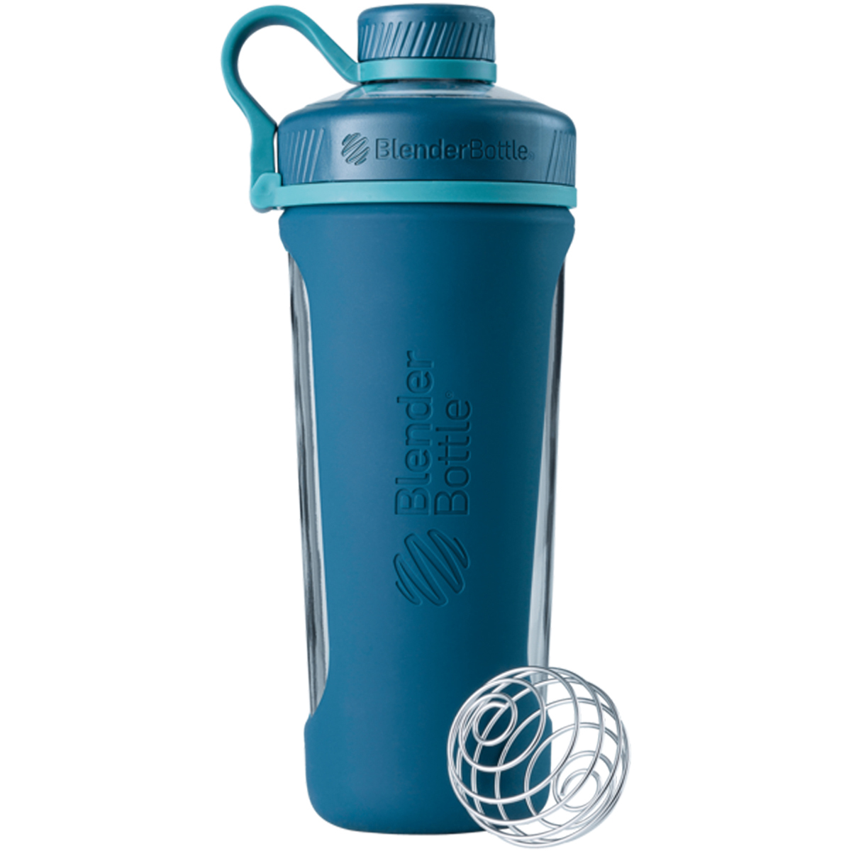 Blender Bottle Radian 28 oz. Glass Shaker Bottle with Loop Top | eBay