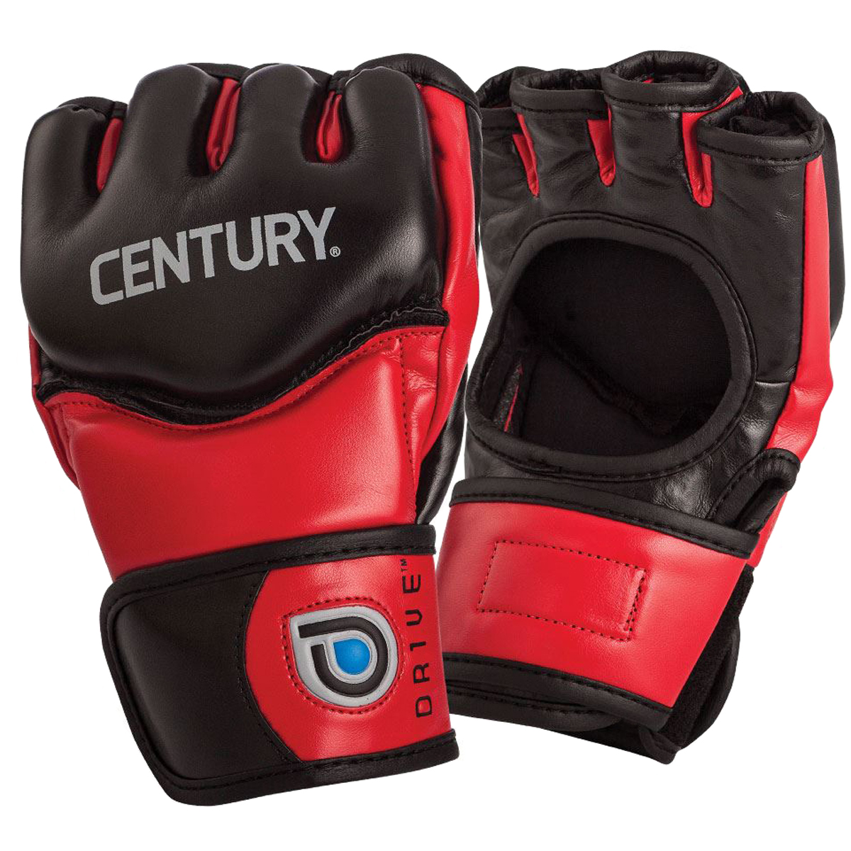 NEW $50 CENTURY Drive Fight Gloves MMA Karate Grappling Sparring Adult Men/'s