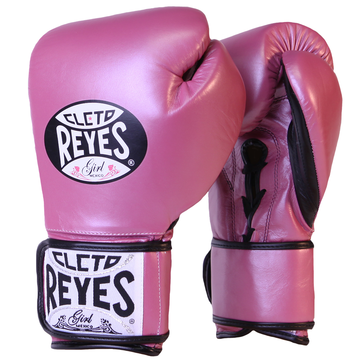 Red Cleto Reyes Lace Up Hook And Loop Hybrid Training Boxing Gloves