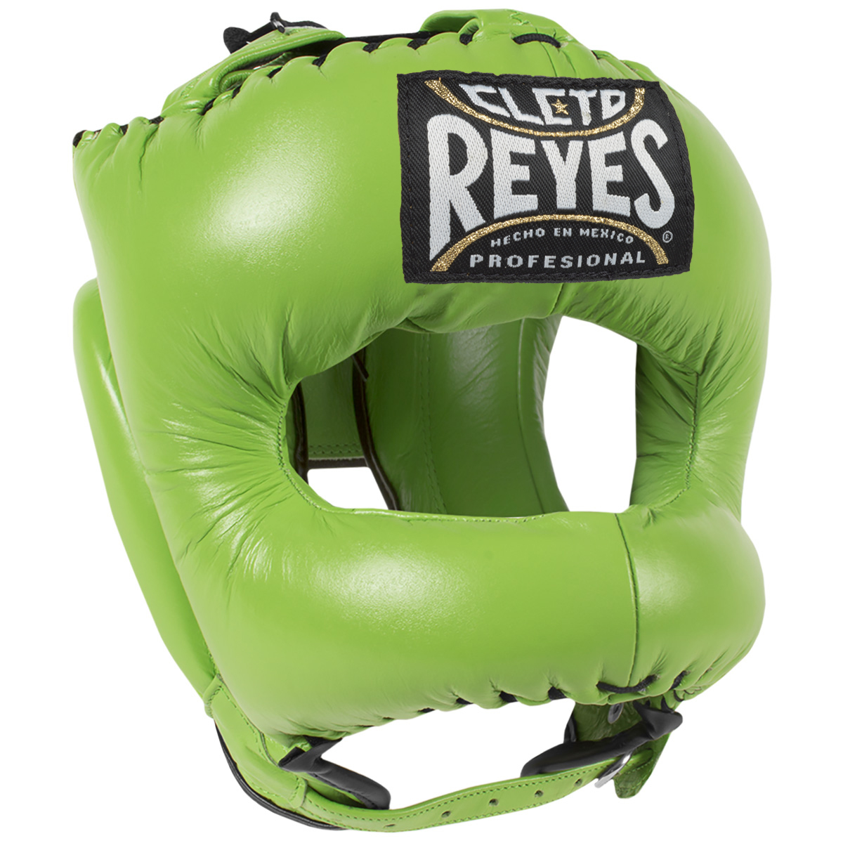 Cleto Reyes Traditional Leather Boxing Headgear with Nylon Face Bar Pink