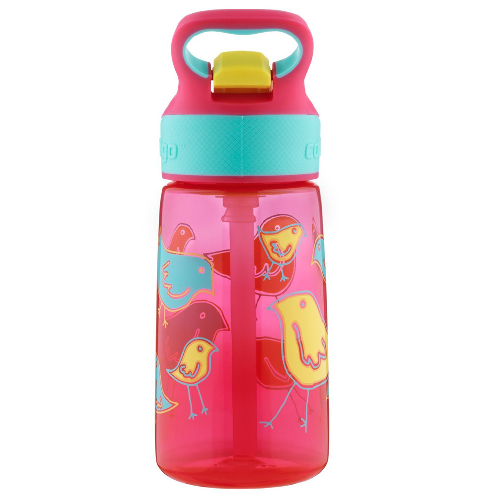 Contigo-14-oz-Kid-039-s-Striker-Autospout-Water-Bottle miniature 3