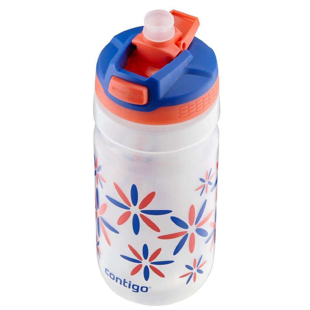 Contigo 18 Oz Kids Squeeze Autospout Water Bottle Pink