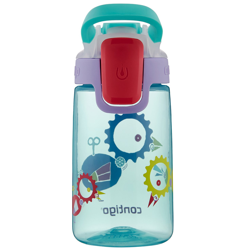 Contigo-14-oz-Kid-039-s-Autoseal-Gizmo-Sip-Water-Bottle miniatuur 19