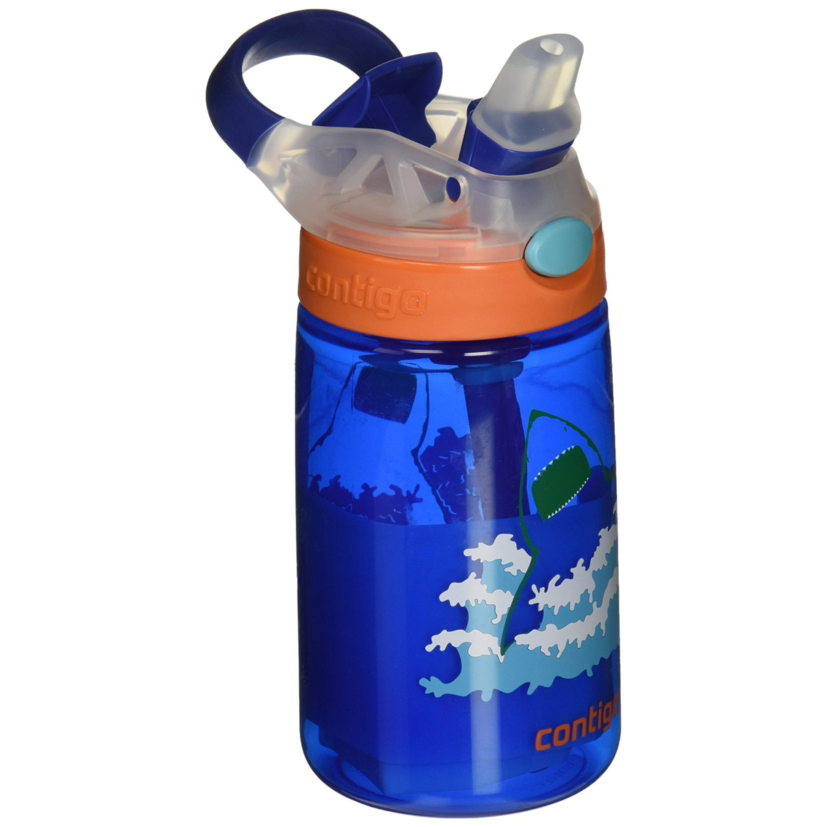 Contigo-14-oz-Kid-039-s-Autospout-Gizmo-Flip-Water-Bottle Indexbild 11