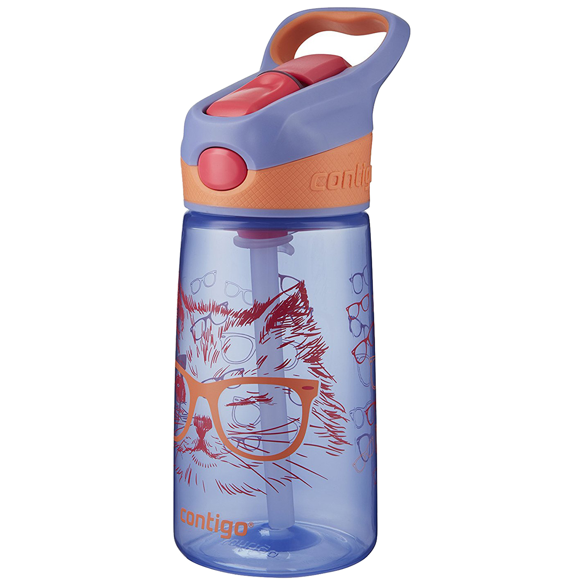Contigo-14-oz-Kid-039-s-Striker-Autospout-Water-Bottle miniature 54