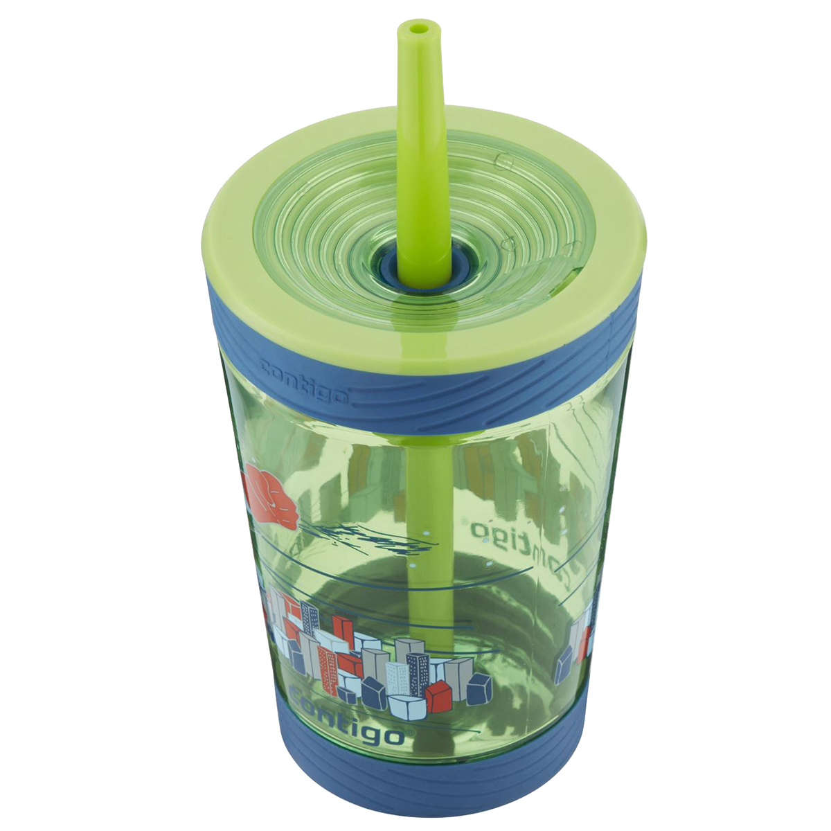 Contigo-14-oz-Kid-039-s-Spill-Proof-Sippy-Cup-Tumbler-with-Straw thumbnail 3