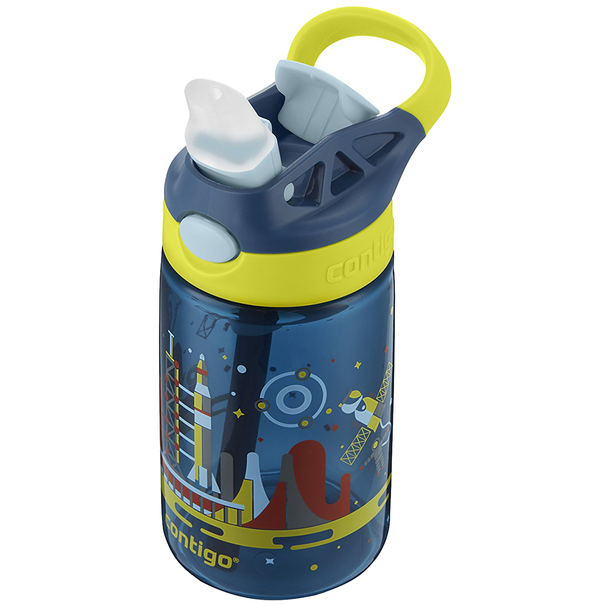 Contigo-14-oz-Kid-039-s-Autospout-Gizmo-Flip-Water-Bottle miniatuur 7