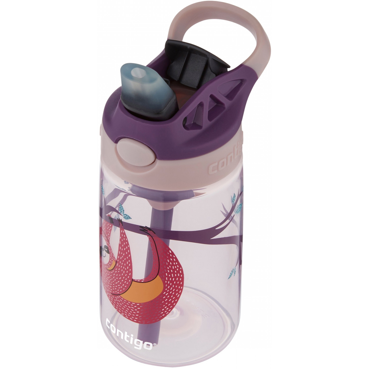 Contigo-Kid-039-s-14-oz-AutoSpout-Straw-Water-Bottle-with-Easy-Clean-Lid thumbnail 37