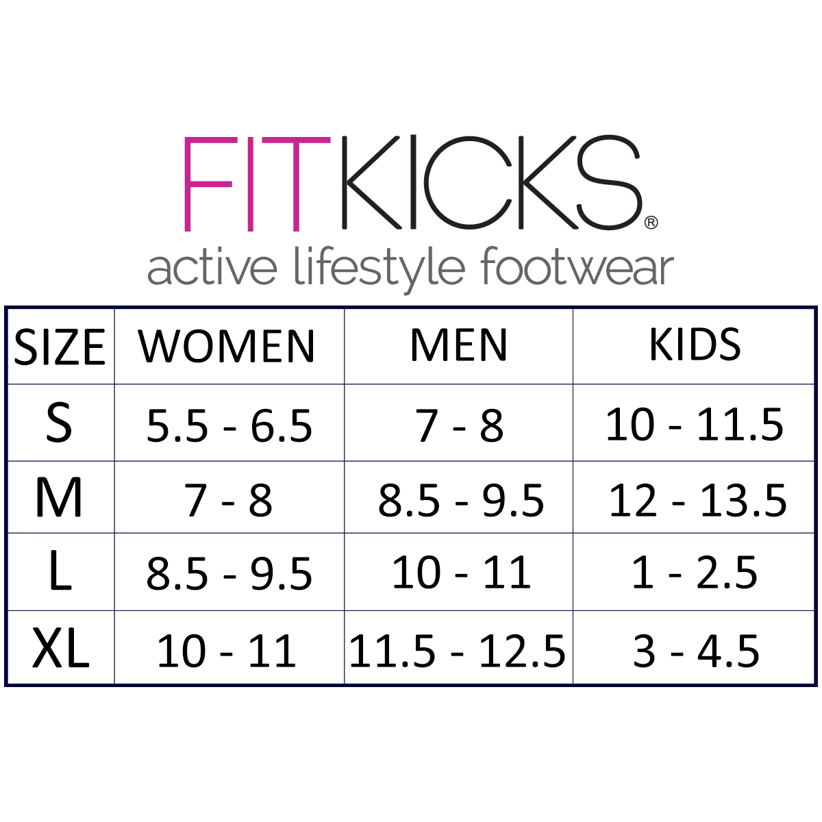 FitKicks-Women-039-s-Non-Slip-Sole-Active-Footwear thumbnail 3