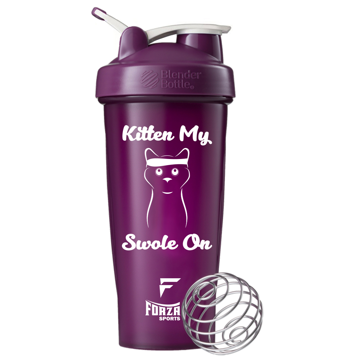 Blender-Bottle-x-Forza-Sports-Classic-28-oz-Shaker-Mixer-Cup-with-Loop-Top thumbnail 25