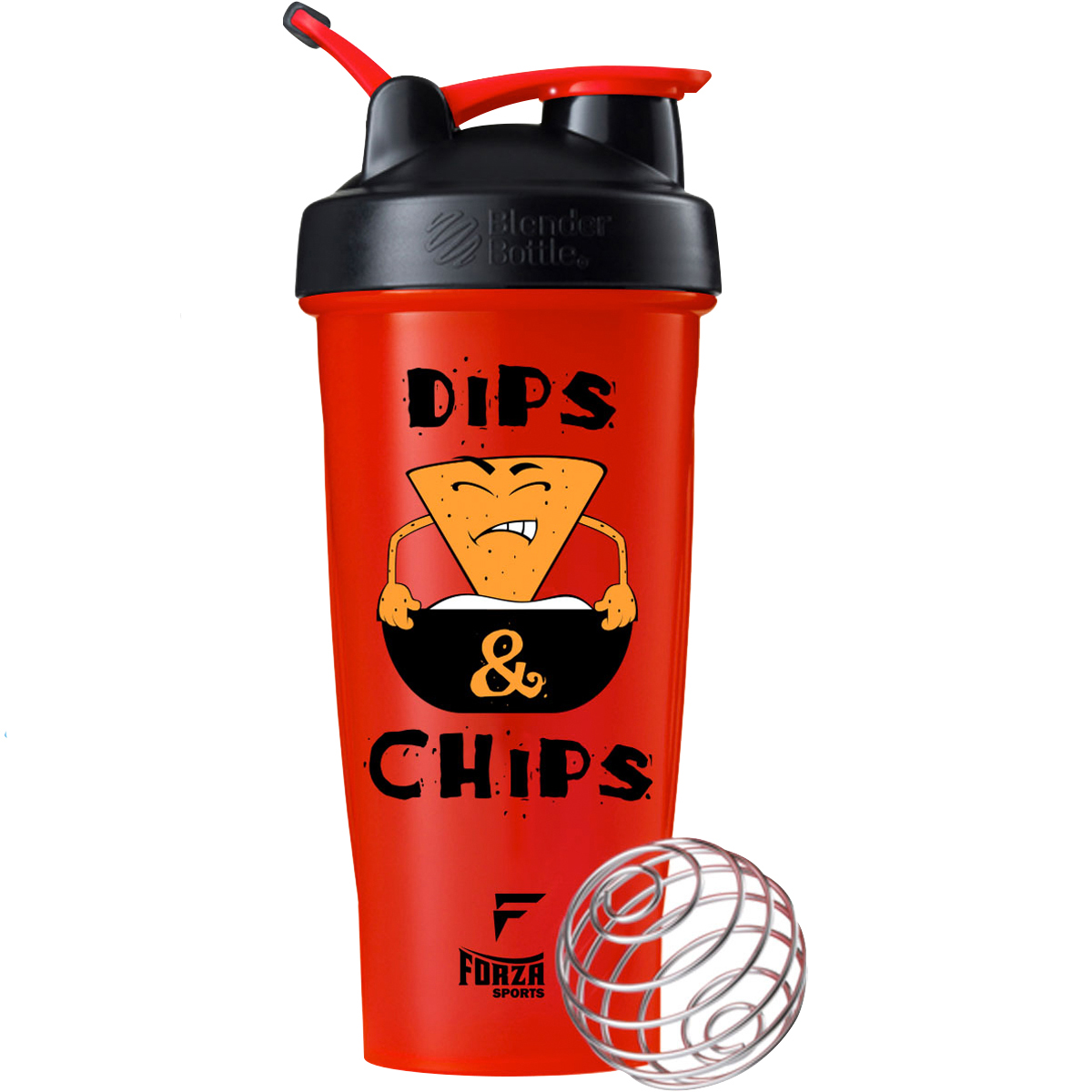 Chips & Dips - Red/Black