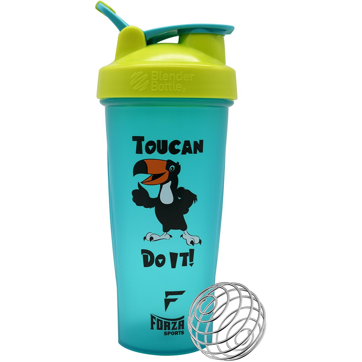 Toucan Do It! - Teal/Green