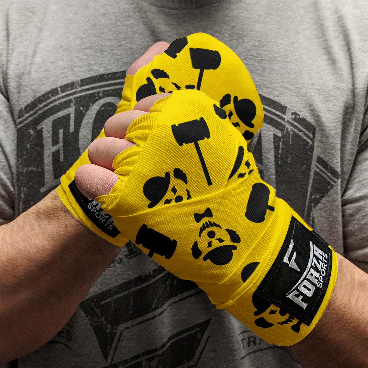 """5-Pack Forza Sports 180/"""" Mexican Style Boxing and MMA Handwraps"""