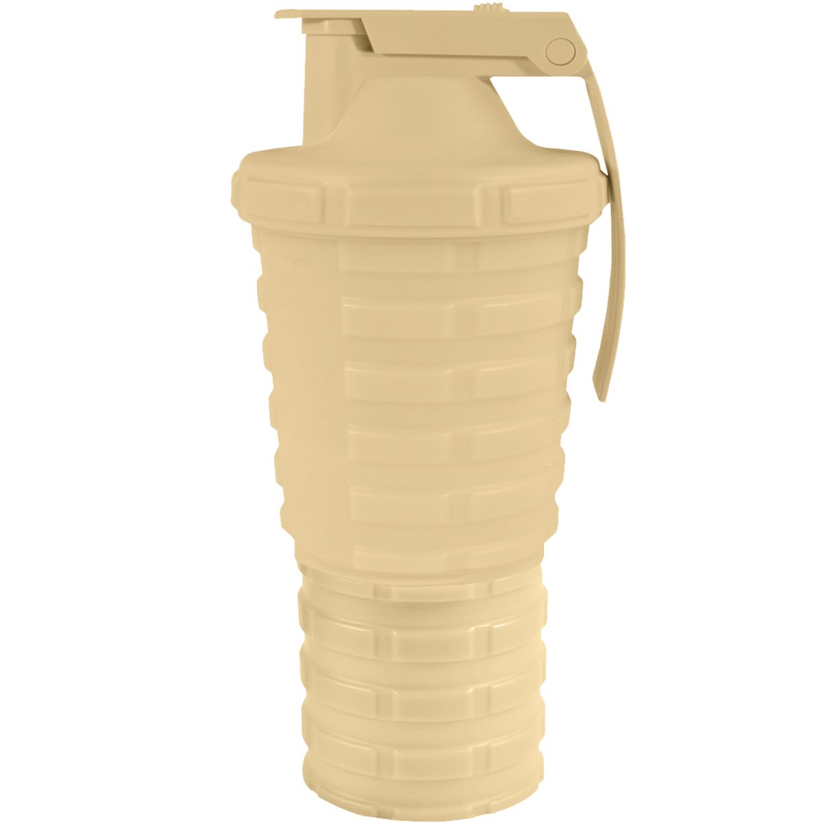 thumbnail 5 - Grenade-20-oz-Shaker-Blender-Mixer-Bottle-with-600ml-Protein-Cup-Compartment